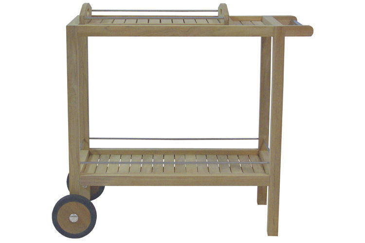 Carrello Portavivande Da Giardino : Carrello portavivande da giardino per uso residenziale in legno