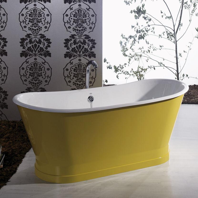 Vasca Da Bagno Rame : Vasca da bagno da appoggio ovale in ghisa in rame epoque recor