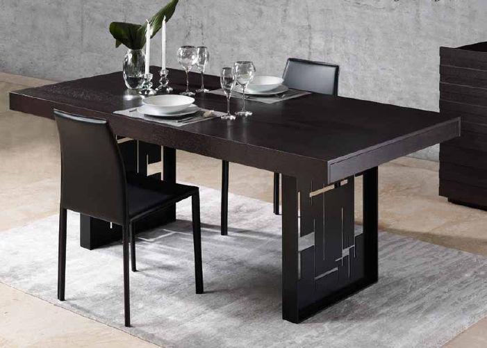 Tavolo da pranzo moderno / in legno / rettangolare / allungabile ...