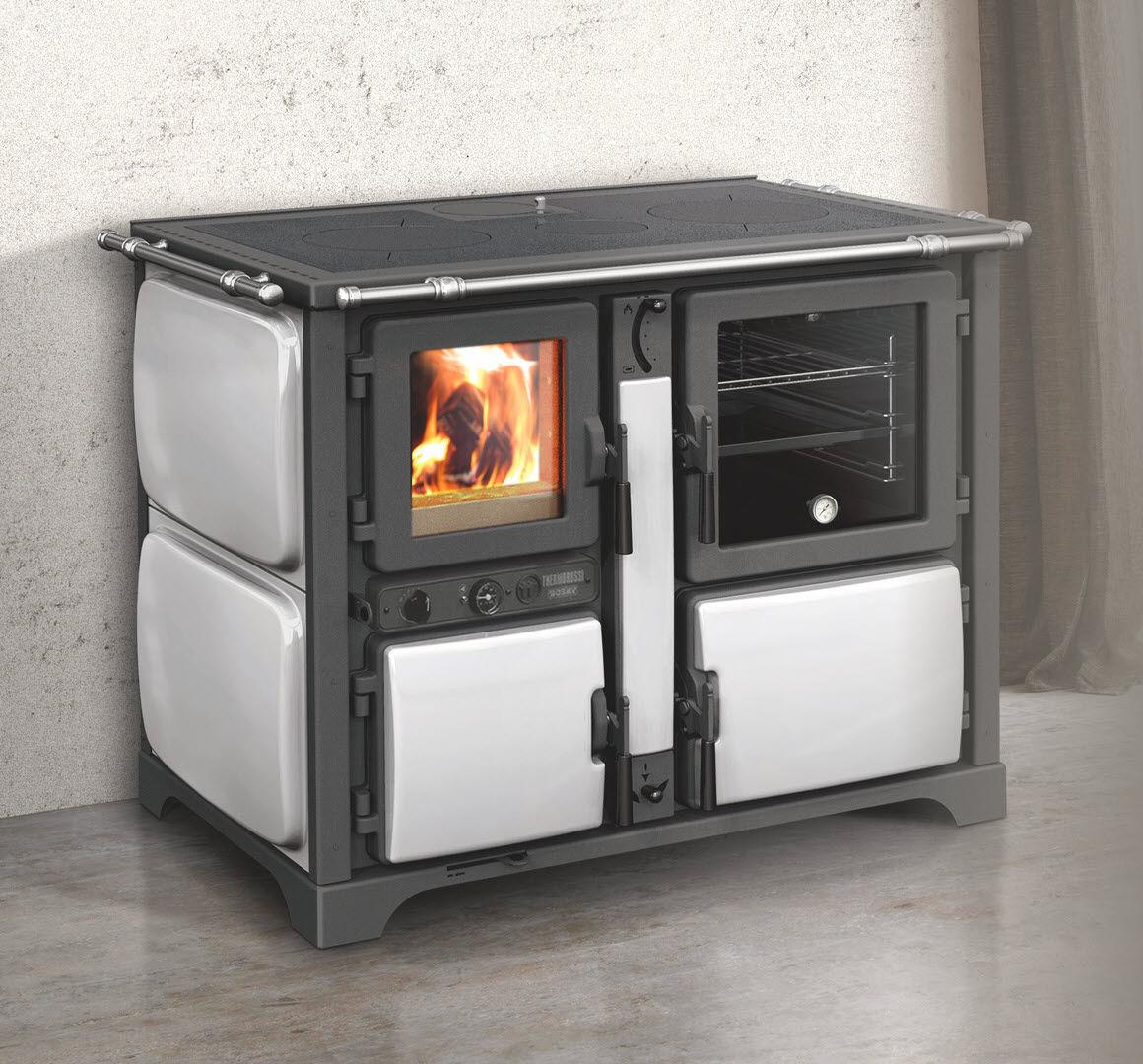 Blocco cucina a legna / per caldaia - BOSKY COUNTRY F30 VINTAGE ...