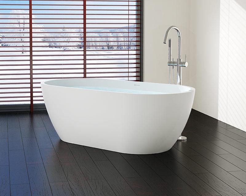 Vasca Da Bagno Ghisa Prezzi : Vasca da bagno ad isola ovale ghisa minerale bw l