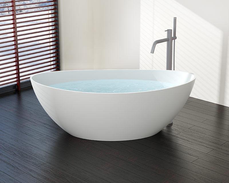 Vasca Da Bagno Ovale Piccola : Vasca da bagno ad isola ovale ghisa minerale bw 03 l