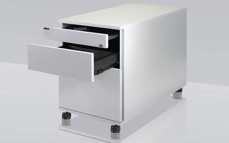 Cassettiera Ufficio In Metallo : Cassettiera per ufficio in metallo cassetti con rotelle