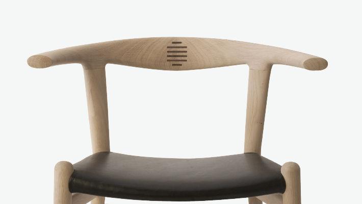 Sedie In Legno Con Braccioli : Sedia moderna con braccioli in legno di hans j wegner the