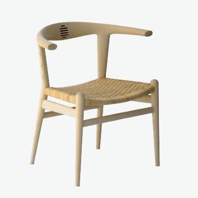 Sedia moderna / con braccioli / in legno / di Hans J. Wegner - THE ...