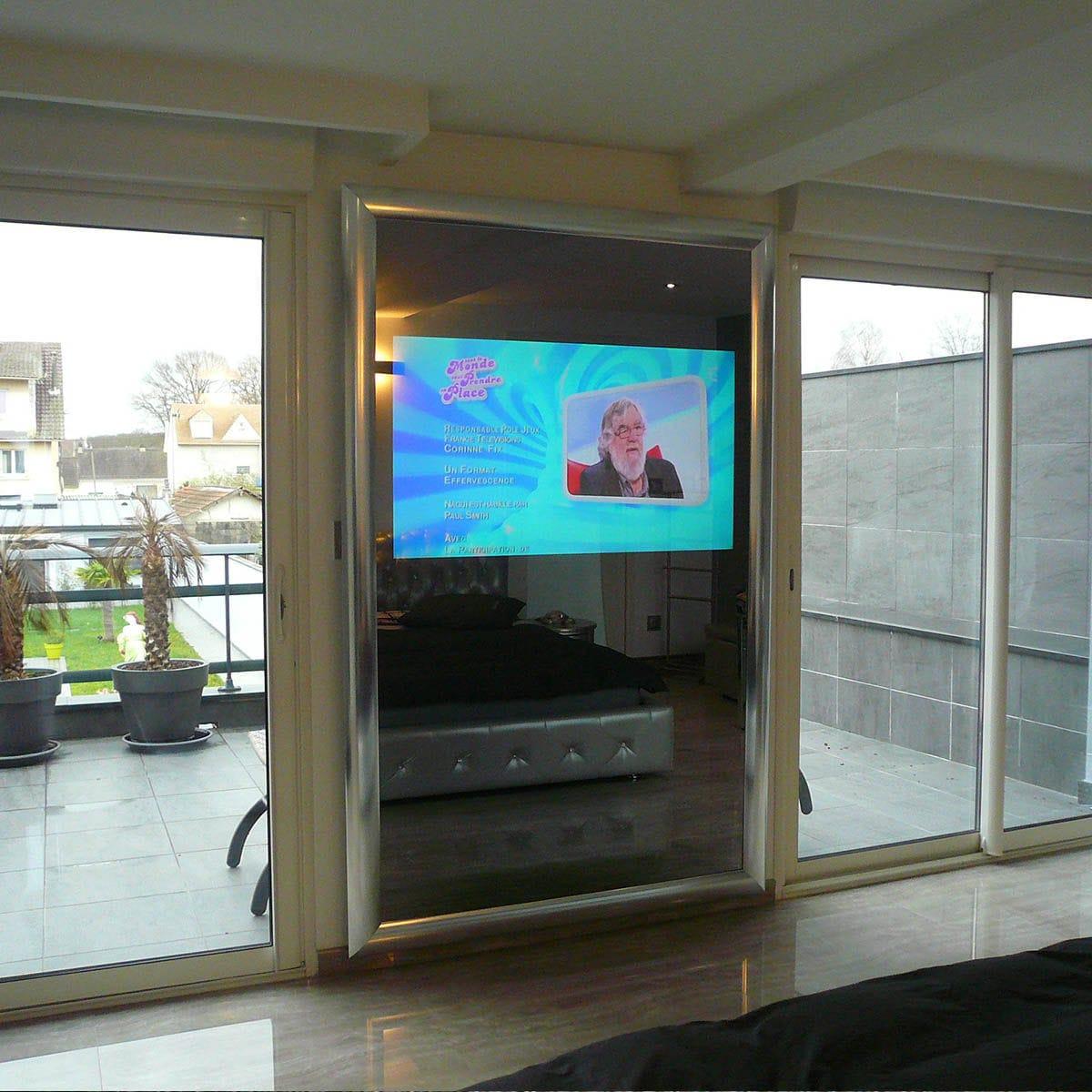 TV a specchio a muro / da sala / per camera da letto / 4K - HELCIA ...