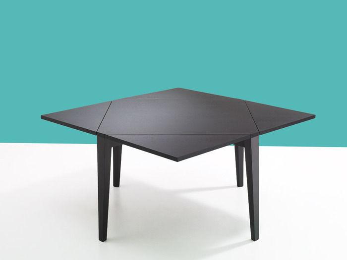 Tavolo moderno / in legno / quadrato / allungabile - MANGIAROTTI ...