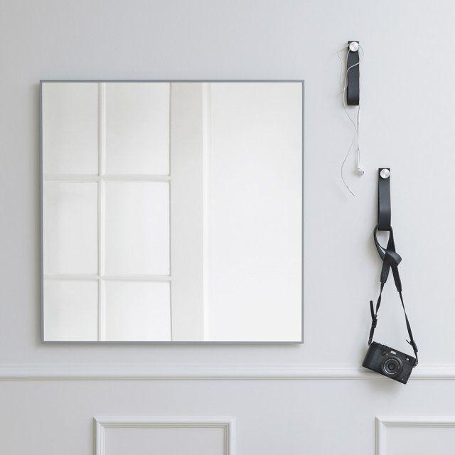 Specchio a muro / per camera da letto / moderno / quadrato - VIEW ...