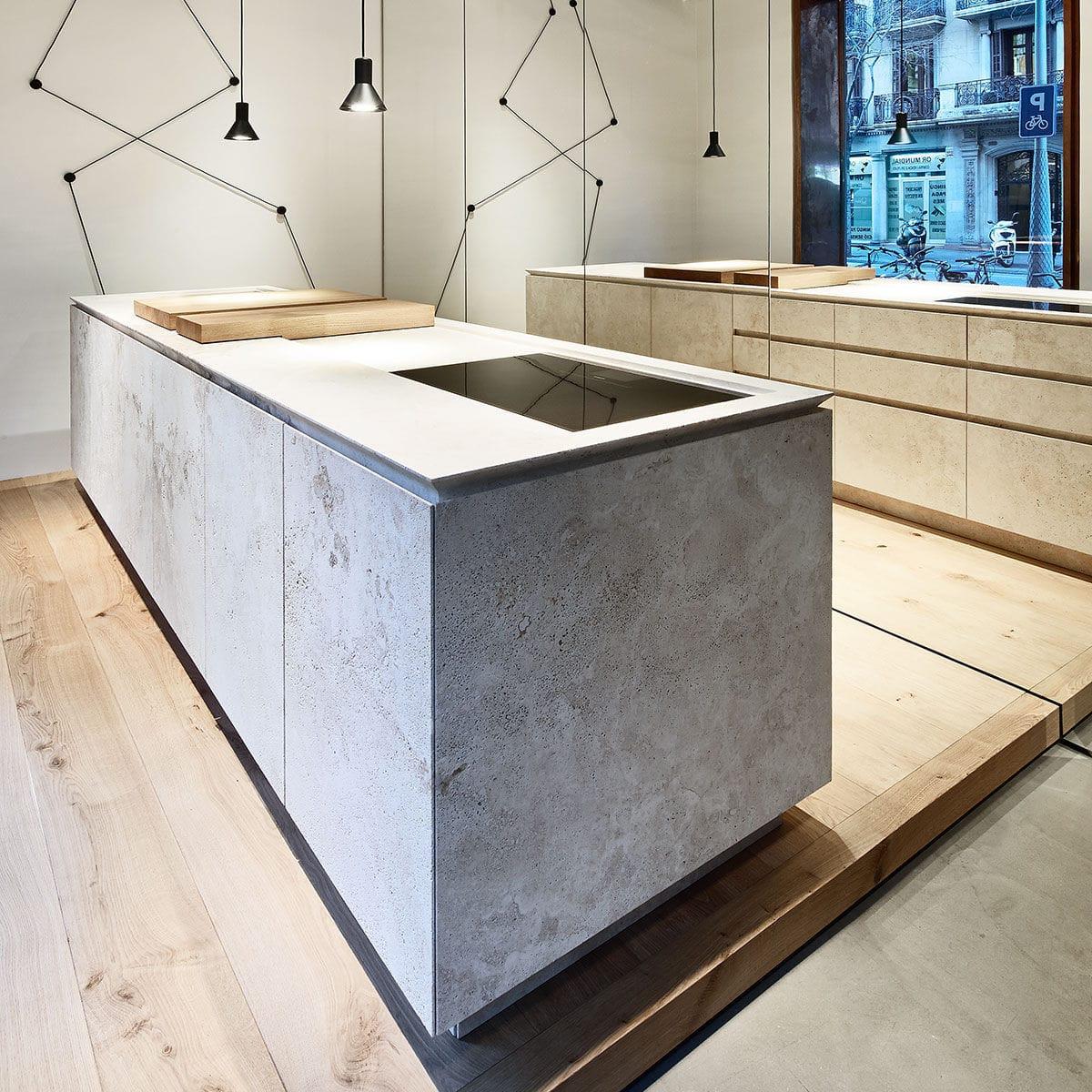 Cucina moderna / in pietra naturale / in metallo / in legno - OCO ...