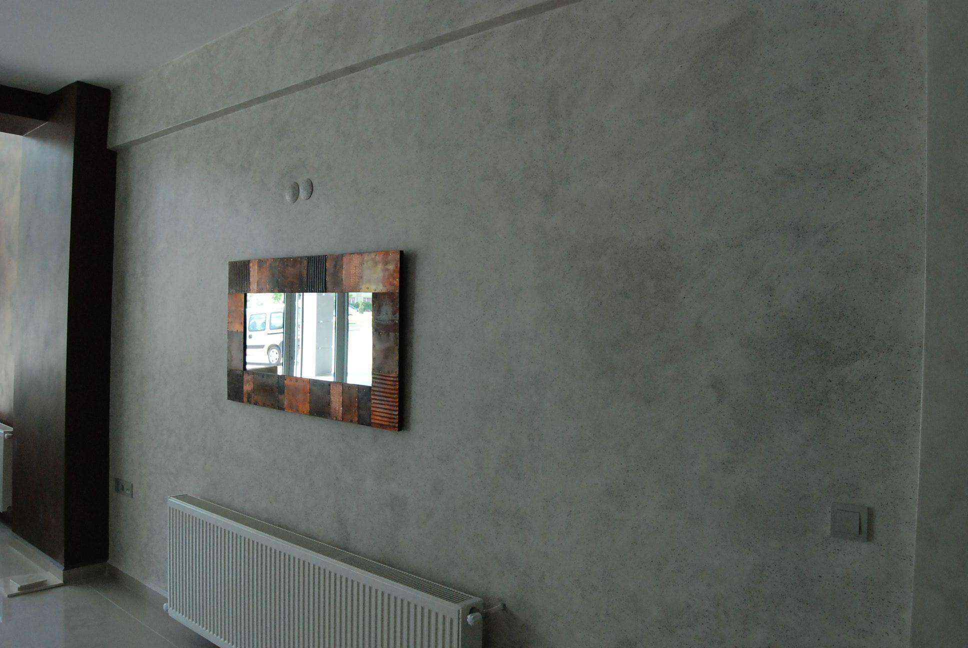 Pittura per muri / interno / acrilica / aspetto metallico ...