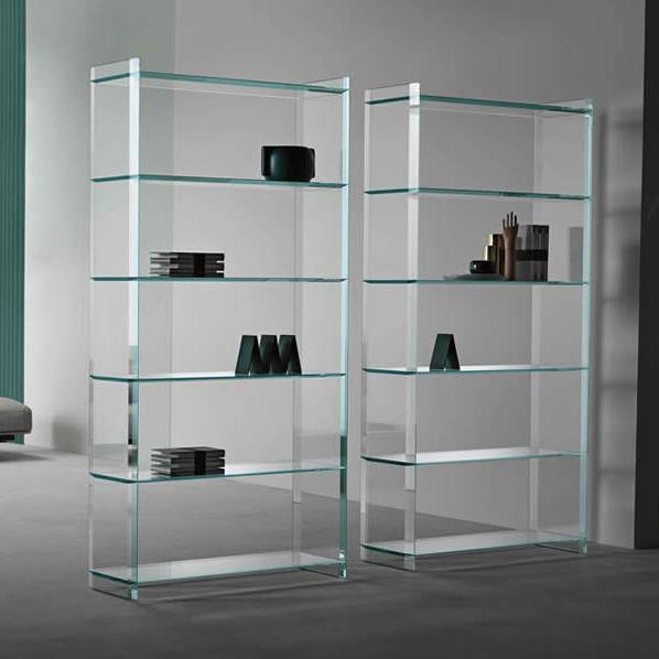 Libreria moderna / in vetro - QUILLER by Uto Balmoral - TONELLI Design