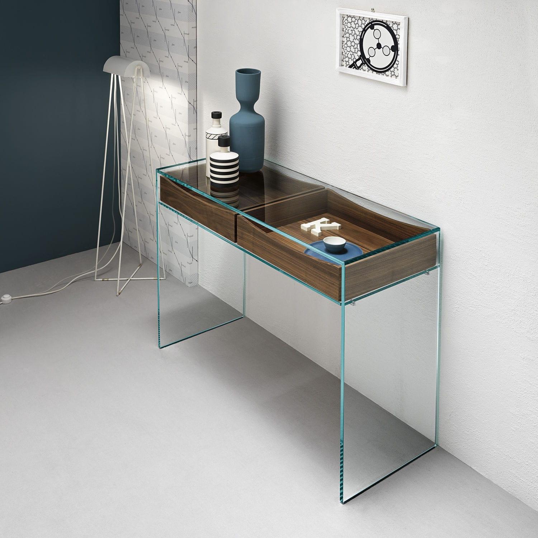 Consolle moderna / in legno / in vetro / rettangolare - GULLIVER 2 ...