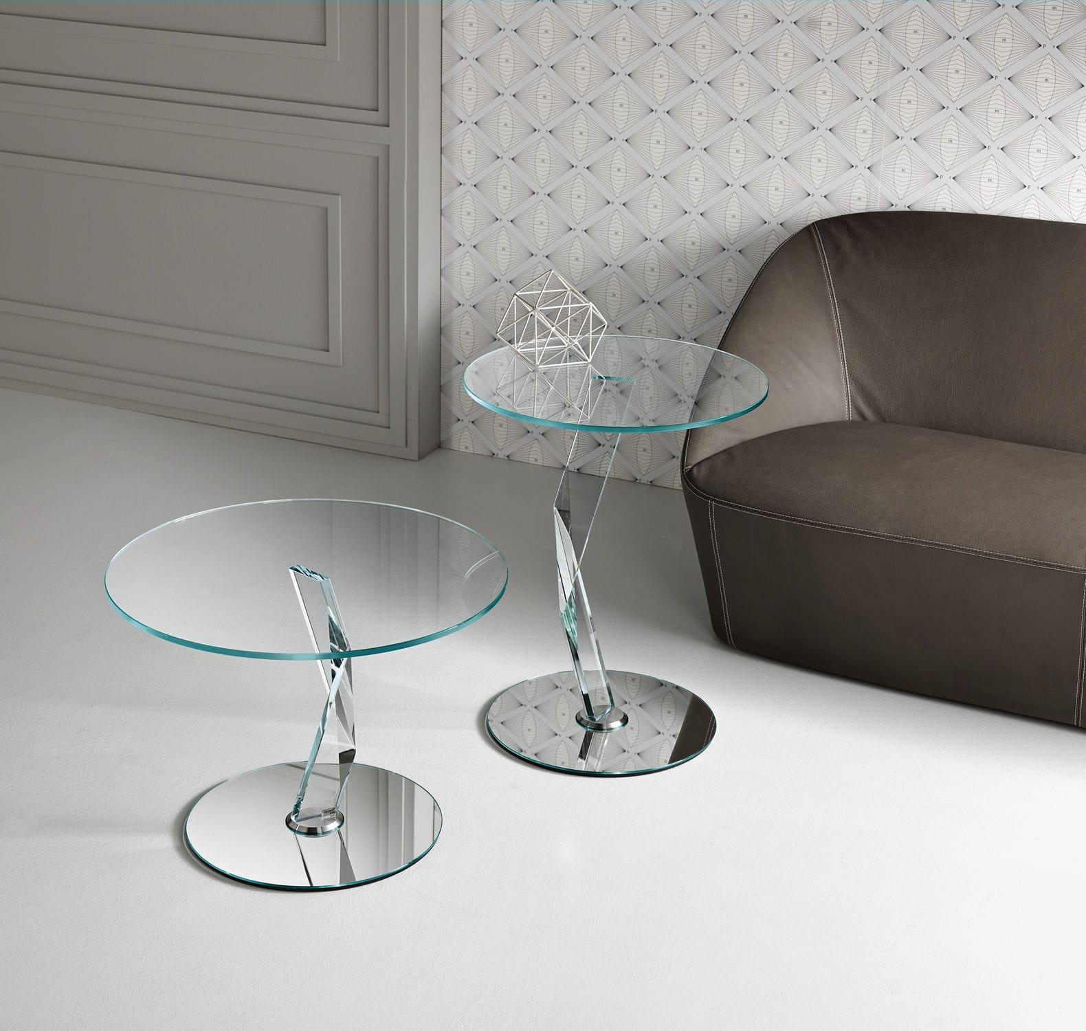 Tavoli cristallo design | Higrelays