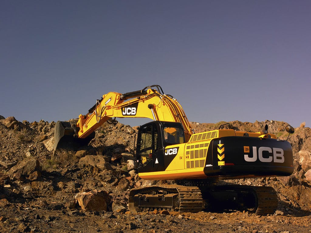 Amato Escavatore di grandi dimensioni / cingolato - JS330 - JCB  BG52