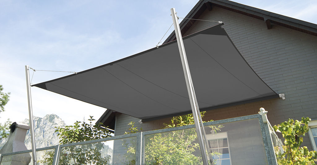 Tende A Vela Impermeabili.Tenda A Vela Impermeabile Soliday Cs Plaspack Netze Gmbh