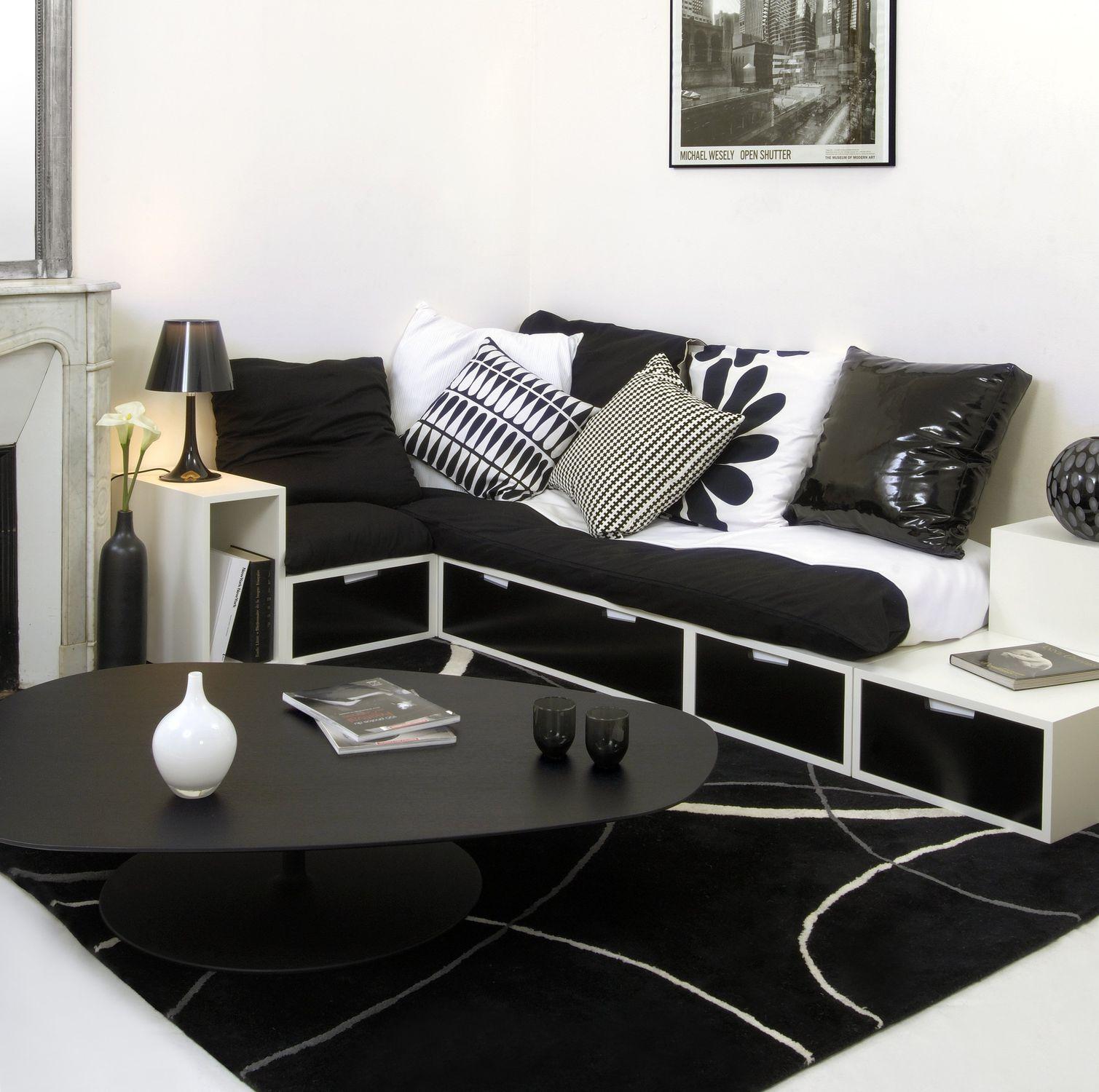 Divano letto / d'angolo / moderno / in tessuto - THE COSY - ESPACE ...