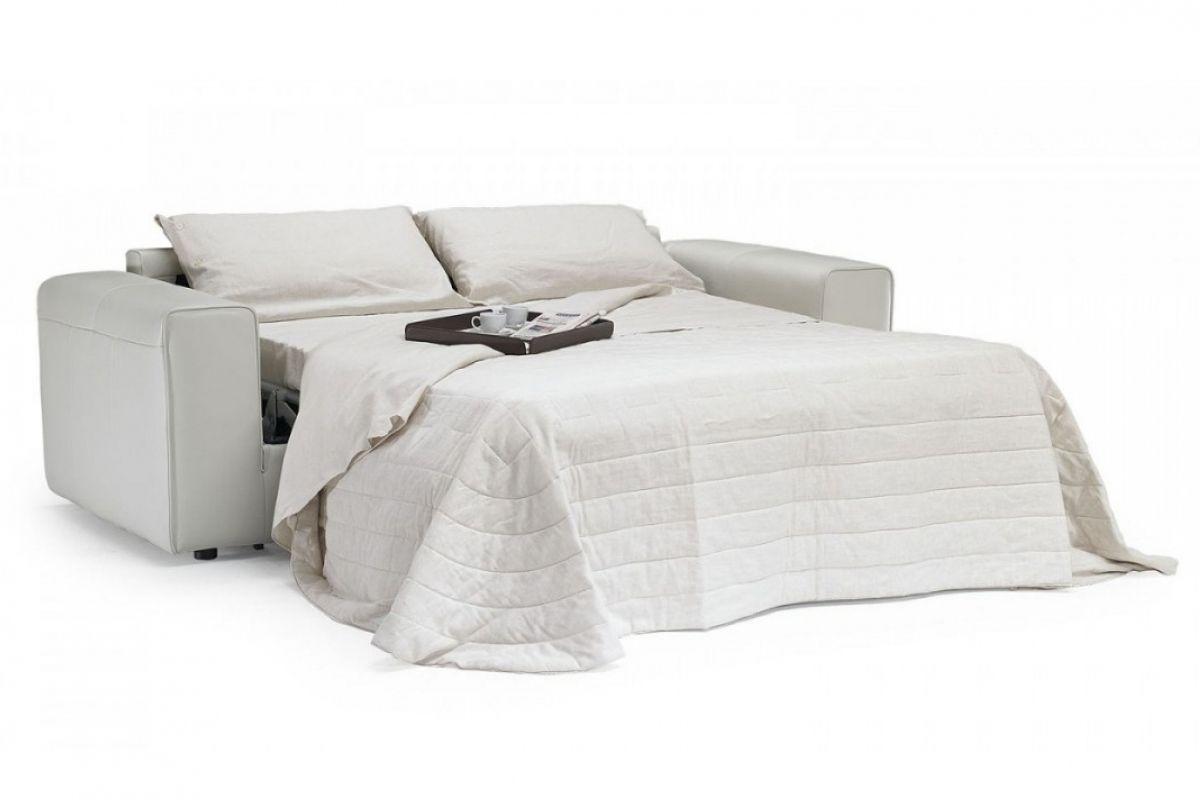 Divano letto / moderno / in pelle / in tessuto - DADO - NATUZZI