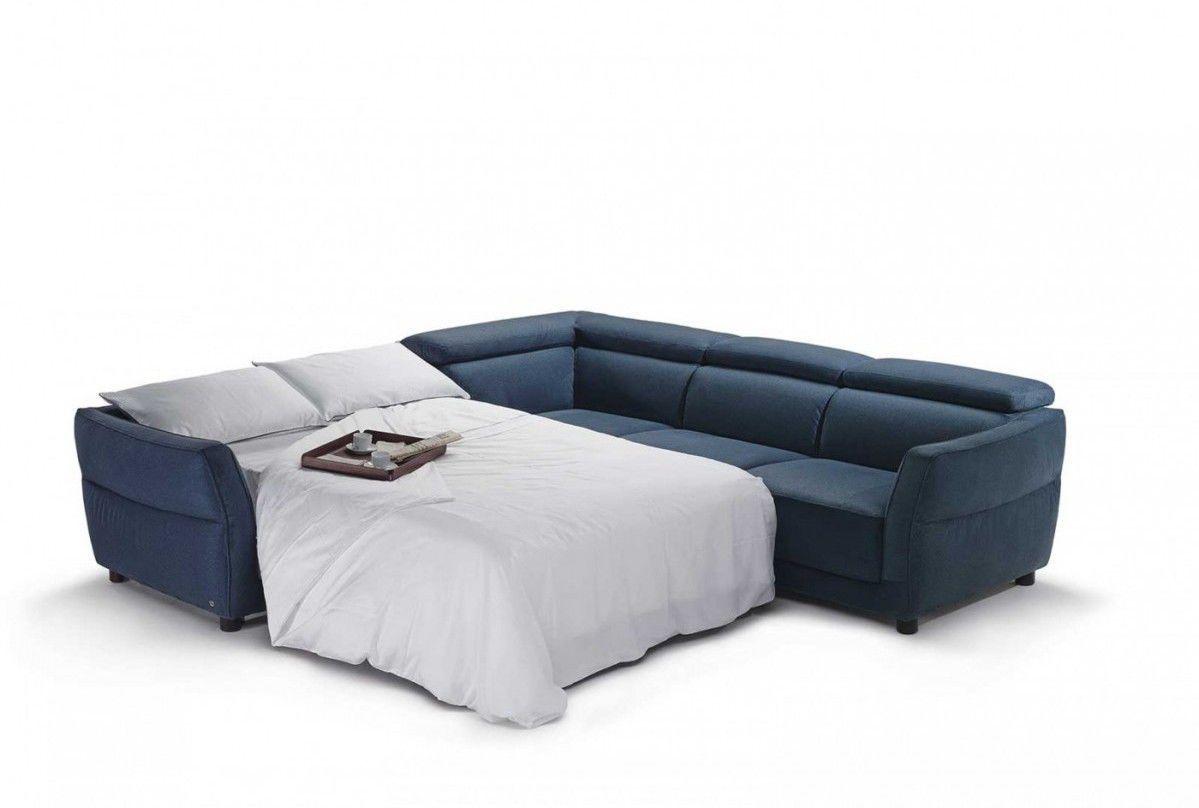 Divano modulare / letto / moderno / in pelle - NOTTURNO - NATUZZI