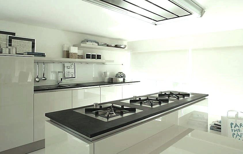 Cucina moderna / in ardesia / contract / opaca - KITCHEN TOP SLATE ...
