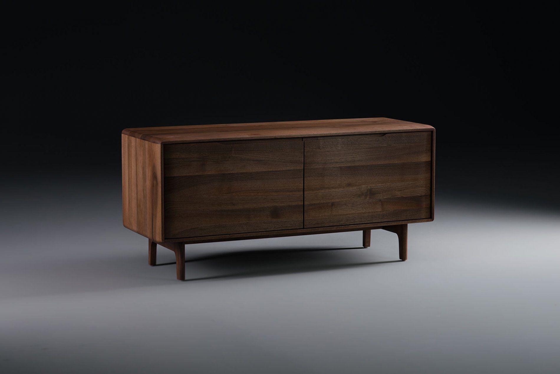 Credenza Moderna In Legno Massello : Credenza moderna in quercia noce legno massiccio