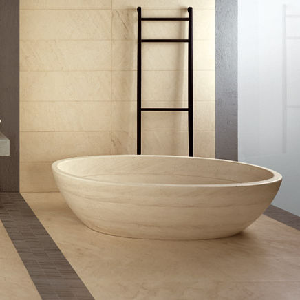 Vasca Da Bagno Tinozza : Vasca da bagno da appoggio ovale in marmo tinozza piba marmi