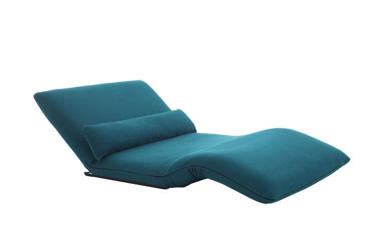 Chaise longue moderna / in tessuto / pieghevole / matrimoniale ...