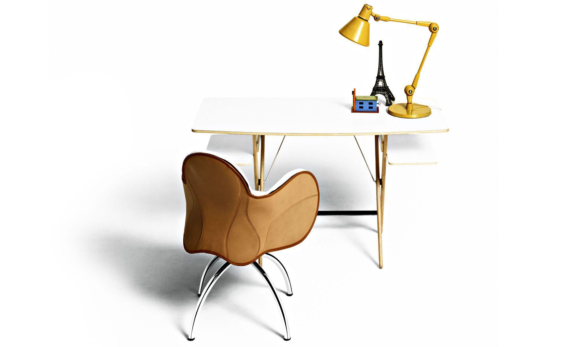 Sedia da ufficio moderna / con rotelle / girevole / in tessuto ...