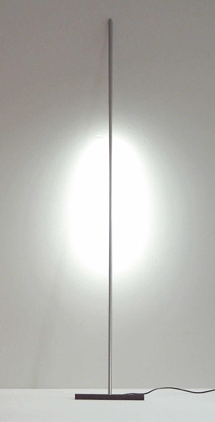 Lampada da terra / design originale / in alluminio / da interno - T ...