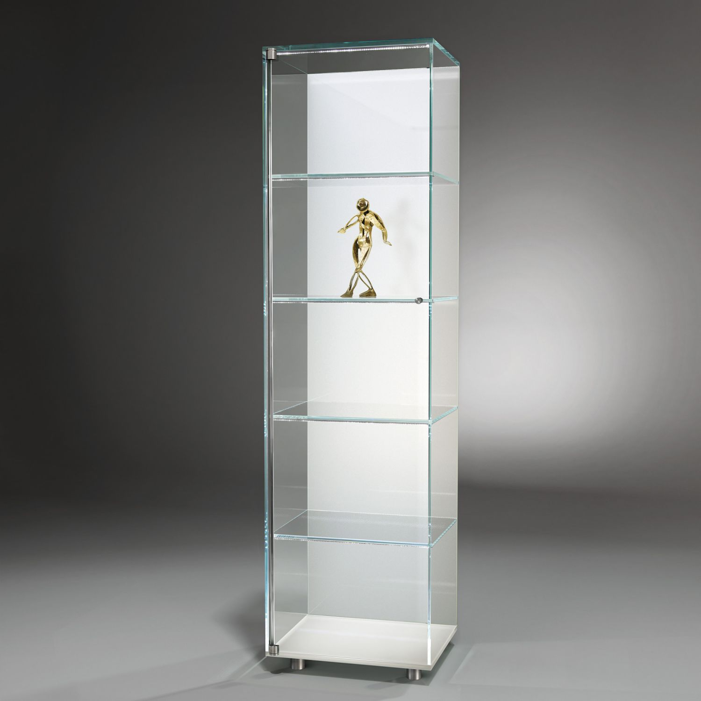 Vetrina moderna / in acciaio inox / in vetro / illuminata - SOLUS ...