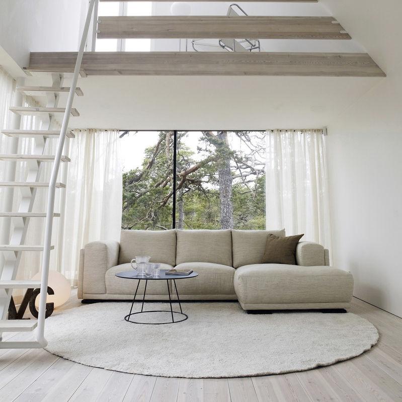 divano moderno / in pelle / in tessuto / 3 posti , SHABBY CHIC