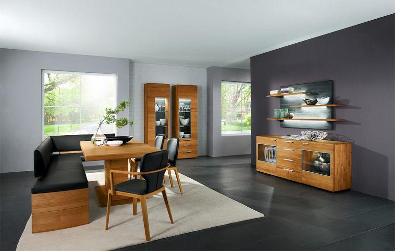 Credenza Moderna Con Alzata : Credenza con alzata moderna in legno curve hartmann