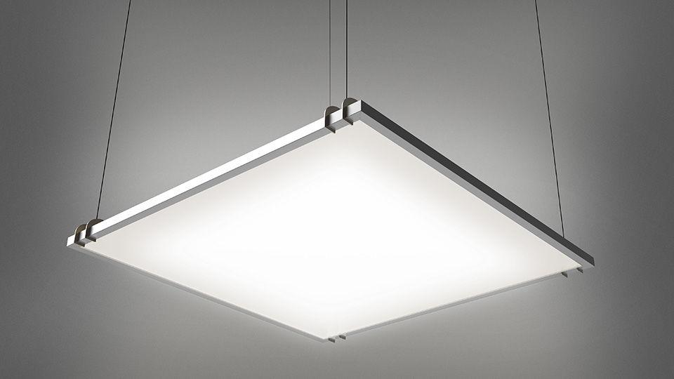 Lampade Da Soffitto A Led Artemide : Luce a sospensione led rettangolare quadrata grafa artemide