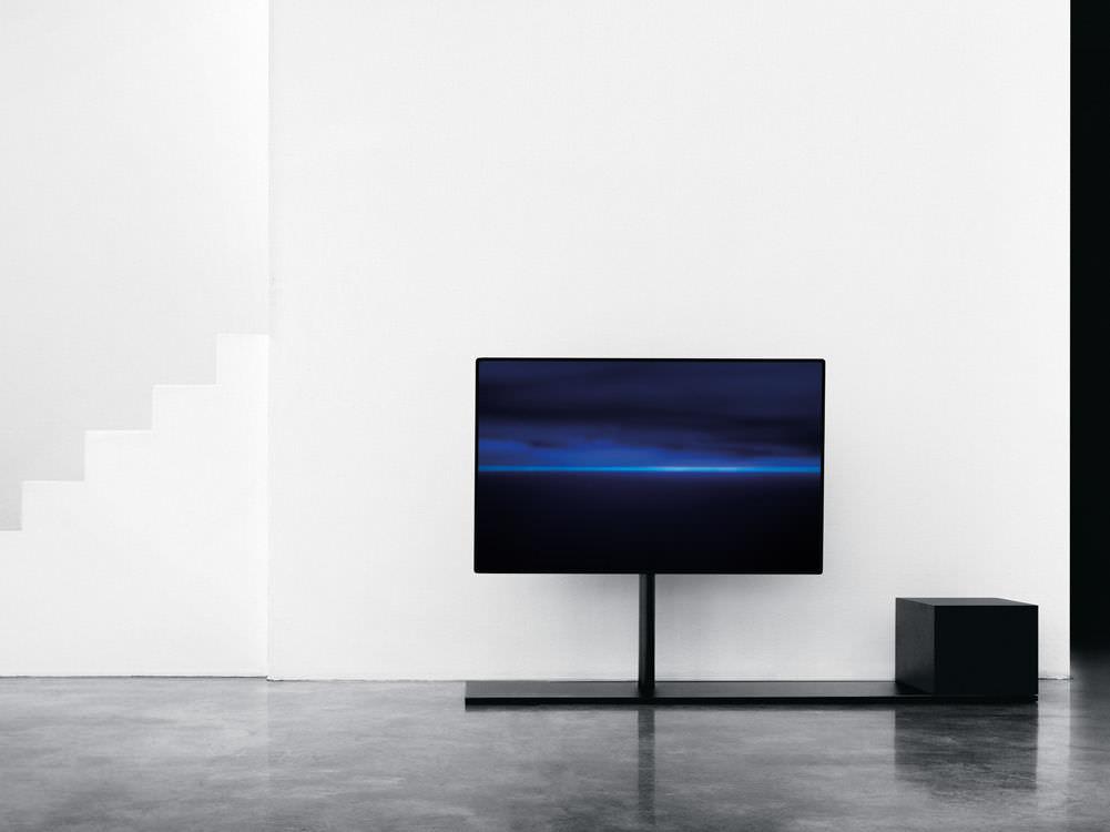 Mobile porta TV moderno / hi-fi / in acciaio - SAIL by Caronni ...