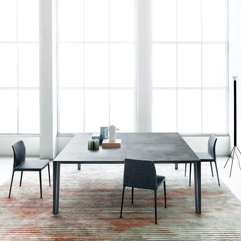 Tavolo Moderno / In Vetro / In Metallo / In Ceramica   SKIN