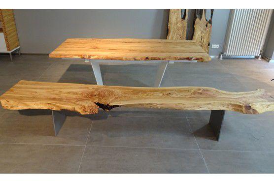 Tavoli Da Pranzo In Legno Massello : Tavolo da pranzo moderno in legno massiccio rettangolare