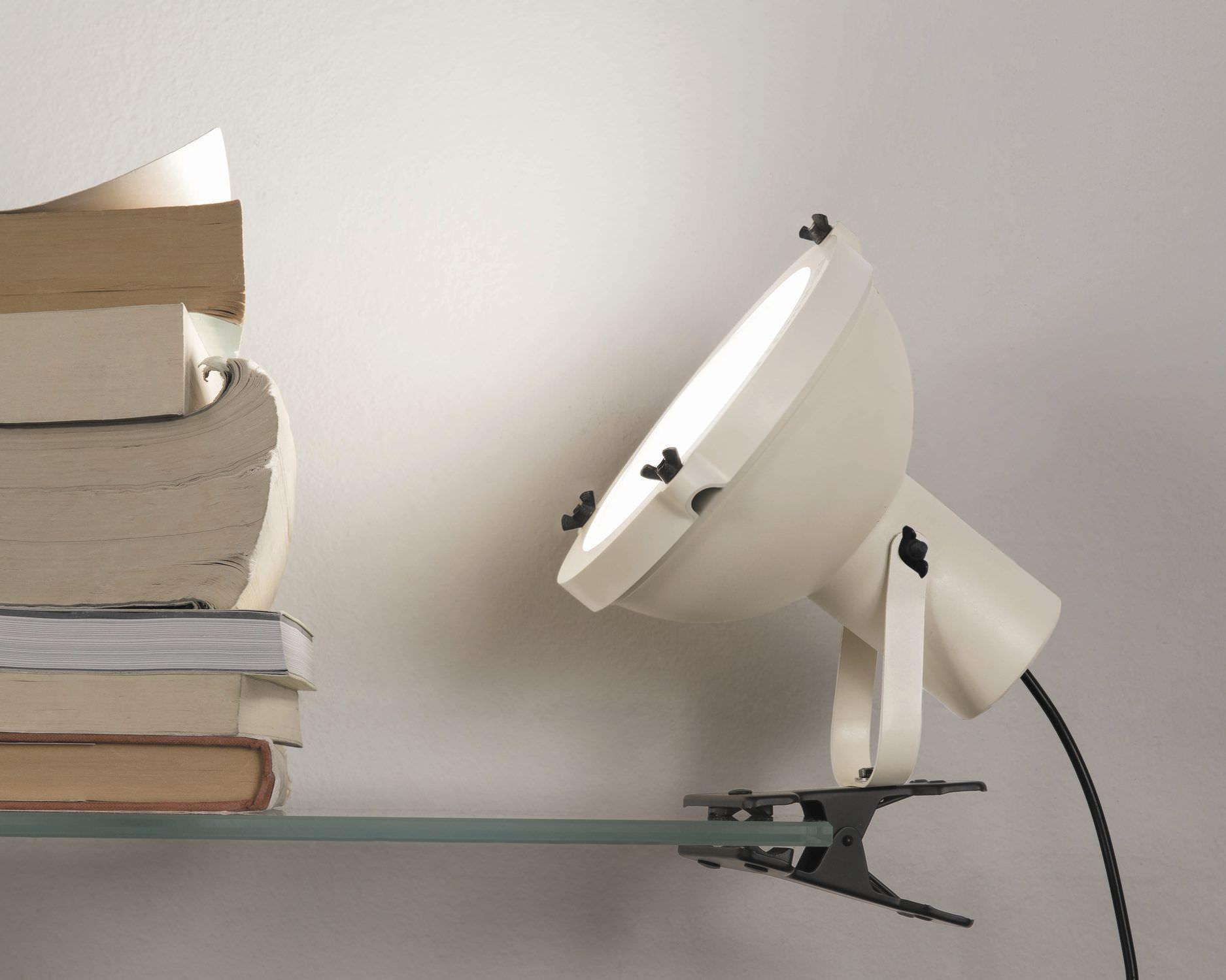 Lampada da tavolo / design originale / in alluminio / in vetro ...