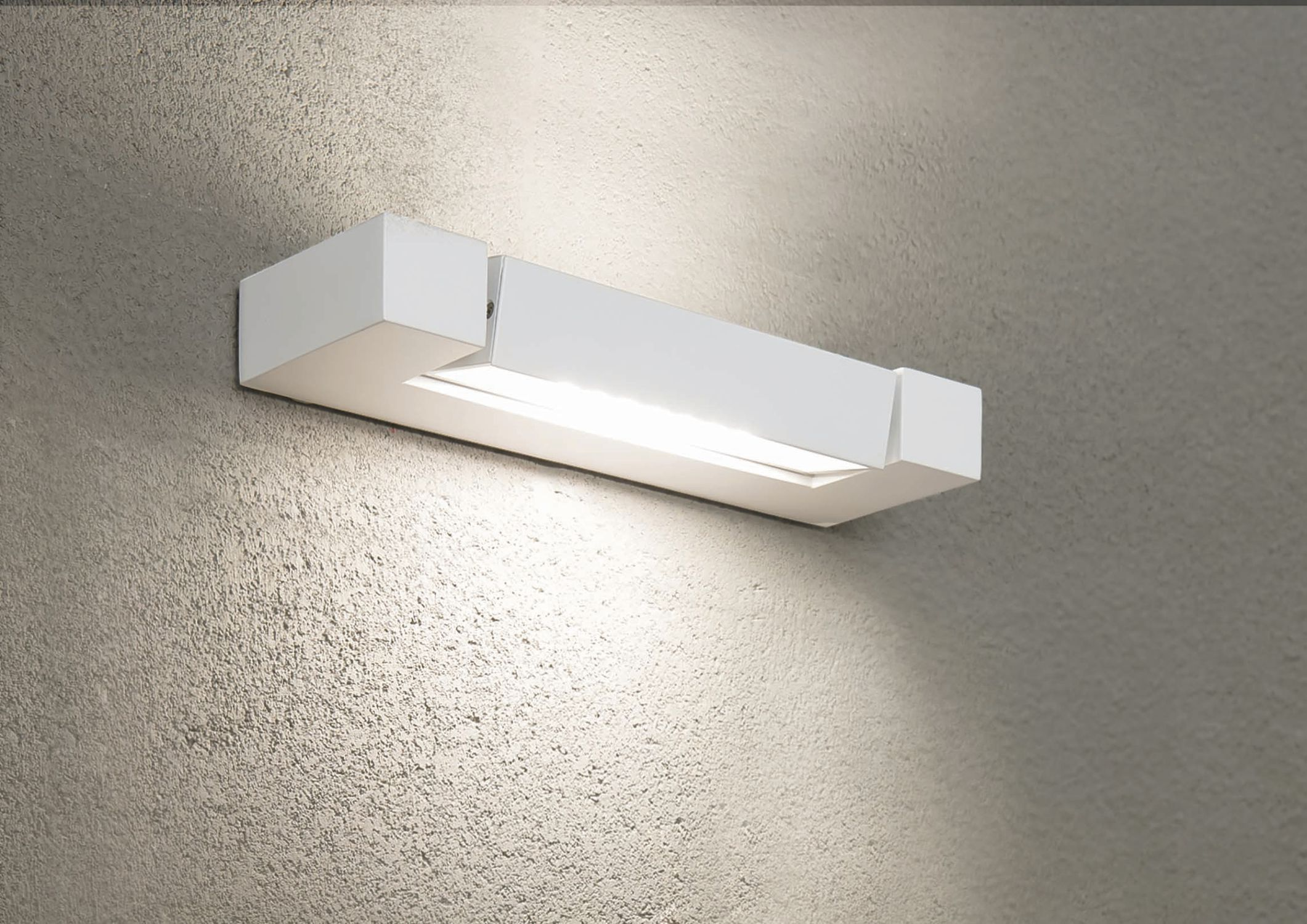 Lampada da parete applique luce moderno vetro gocce cristallo