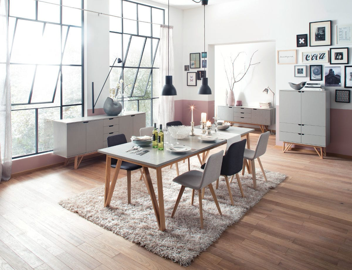 contemporary dining table designs