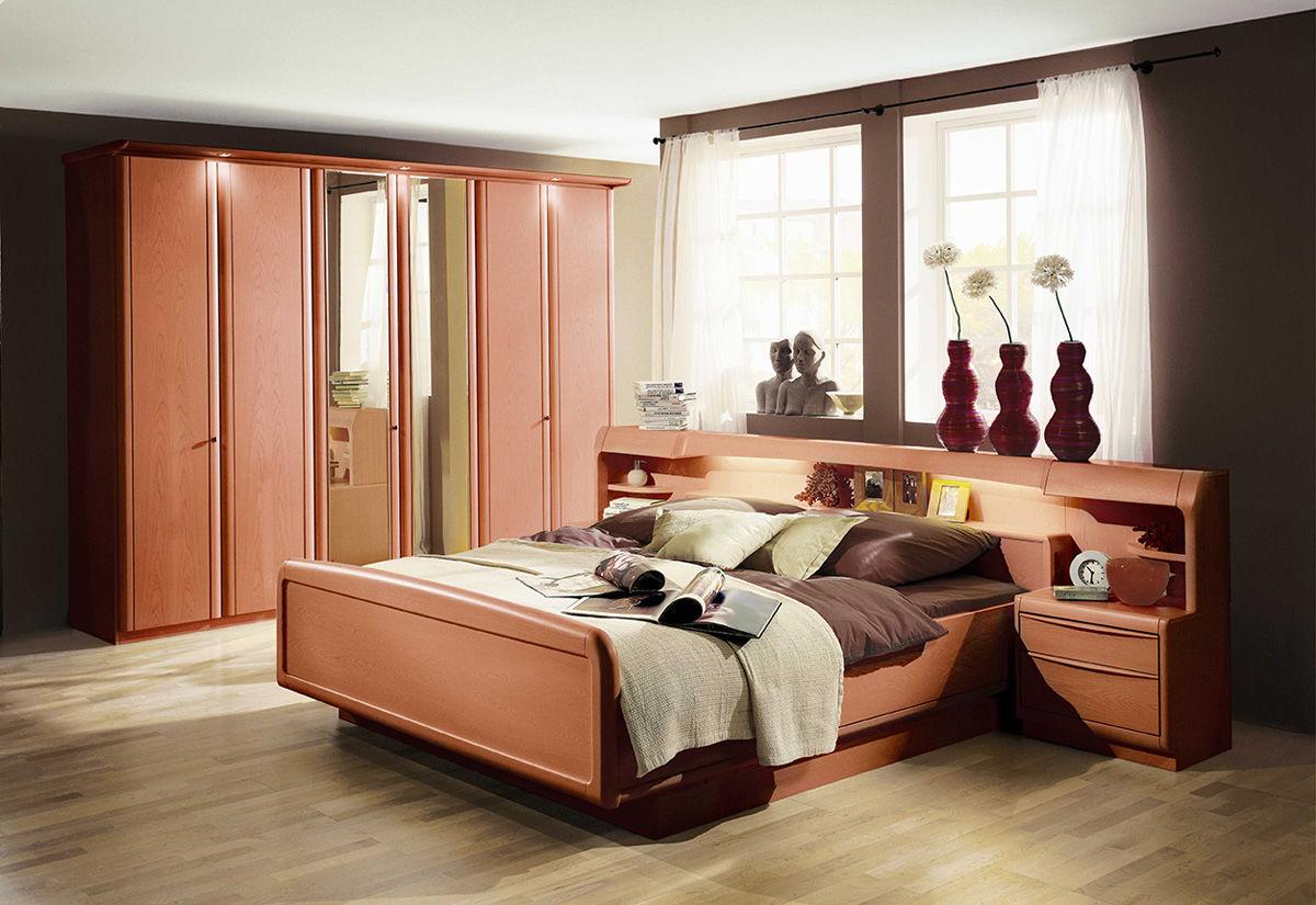 Letto matrimoniale / standard / moderno / in legno - SANTOS ...