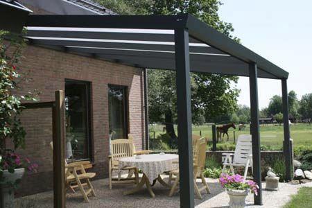 Tettoia per terrazzo / in alluminio - CLIMALUX® - AG PLASTICS
