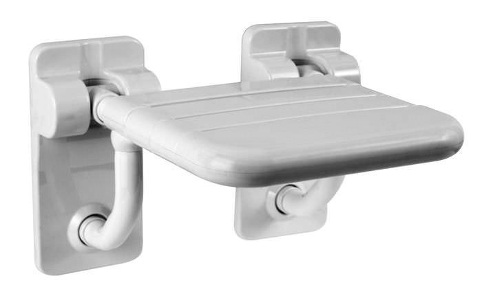 Sedile Per Doccia : Sedile per doccia ribaltabile da parete in acciaio inox
