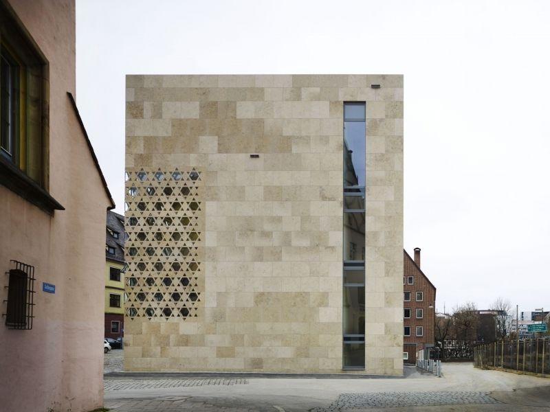 Ben noto Rivestimento di facciata in pietra naturale / in calcare  MH84