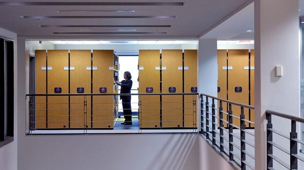 Mobili Archivio Ufficio : Scaffalatura mobile elettrica per archivio per ufficio