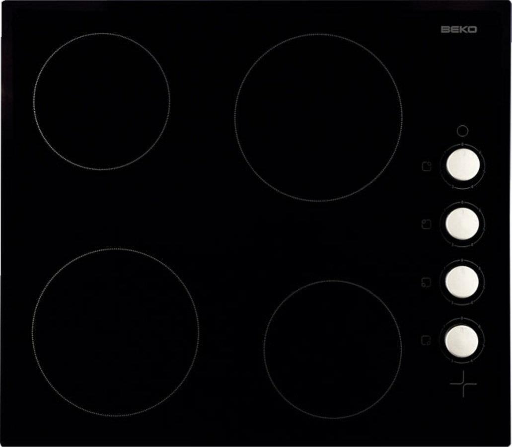 Piano cottura elettrico / in vetroceramica - HIC64102 - Beko