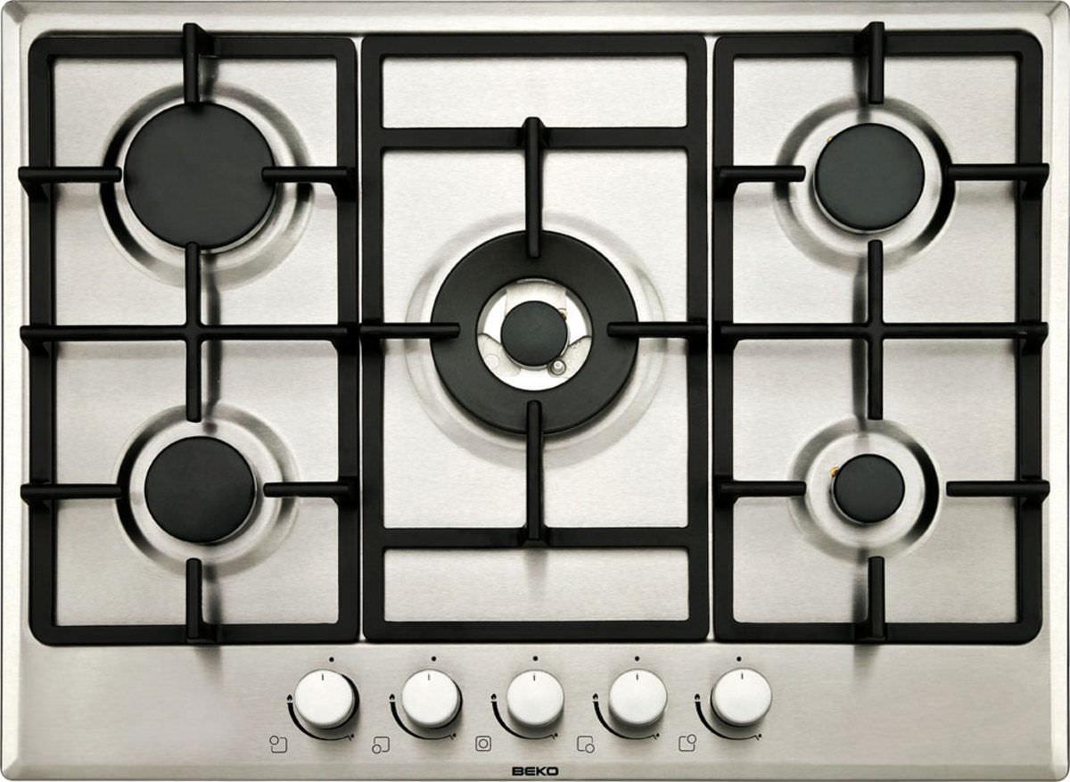 Piano cottura a gas / con grill - HIMW75225 - Beko