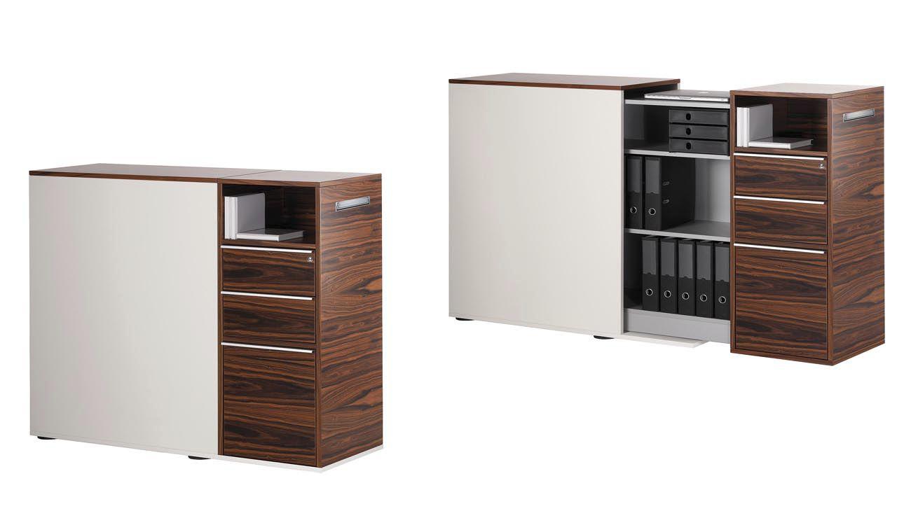 Libreria Ufficio Chiusa : Libreria bassa moderna per ufficio in legno orgatower sitag