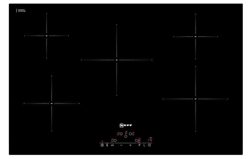 Piano cottura elettrico / a induzione - T45D82X2 - NEFF