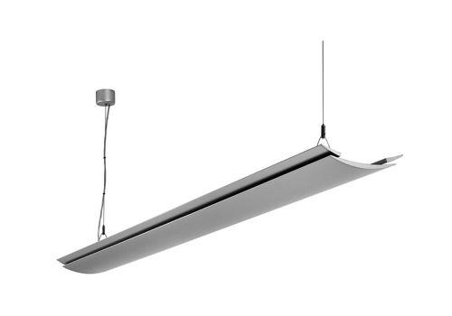 Plafoniere Per Ufficio A Sospensione : Luce a sospensione lampada fluorescente lineare in