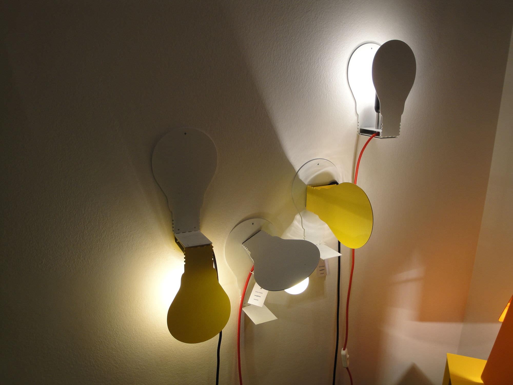 Lampade da parete con filo esterno protezioneazienda