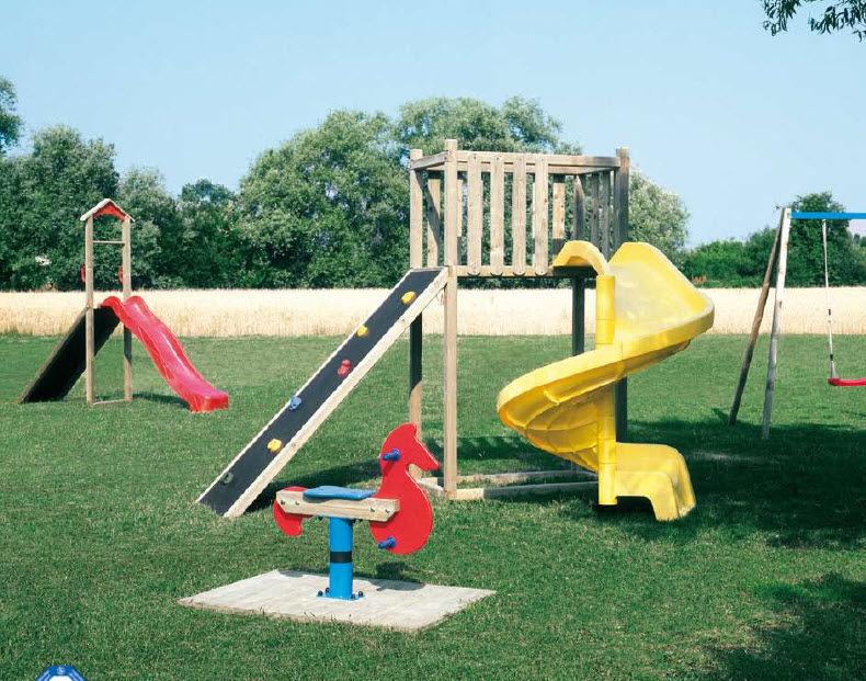 Scivolo per parchi giochi gogo il ceppo